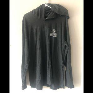 Raiders long sleeve hoodie t-shirt